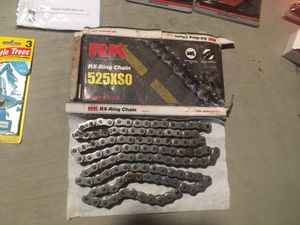 Motorcycle chain RK525xso xring for Sale in Irvine, CA