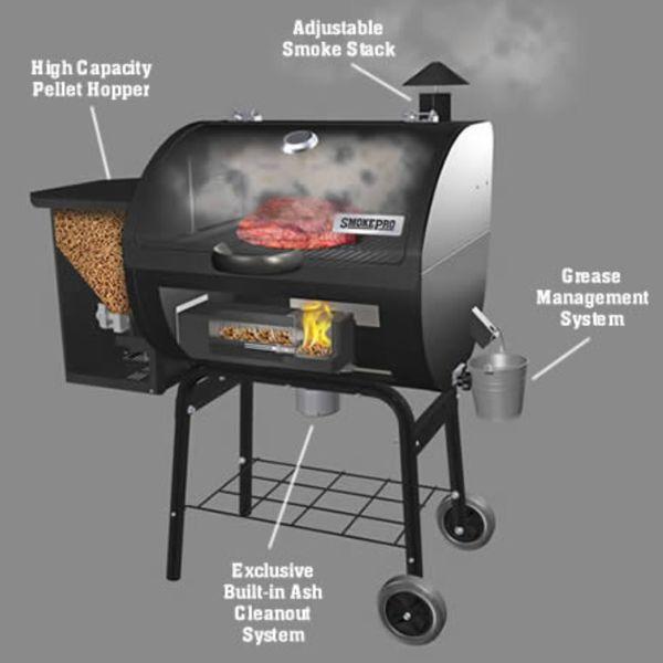 Smoke Pro Camp Chef Pellet Grill for Sale in La Feria, TX - OfferUp
