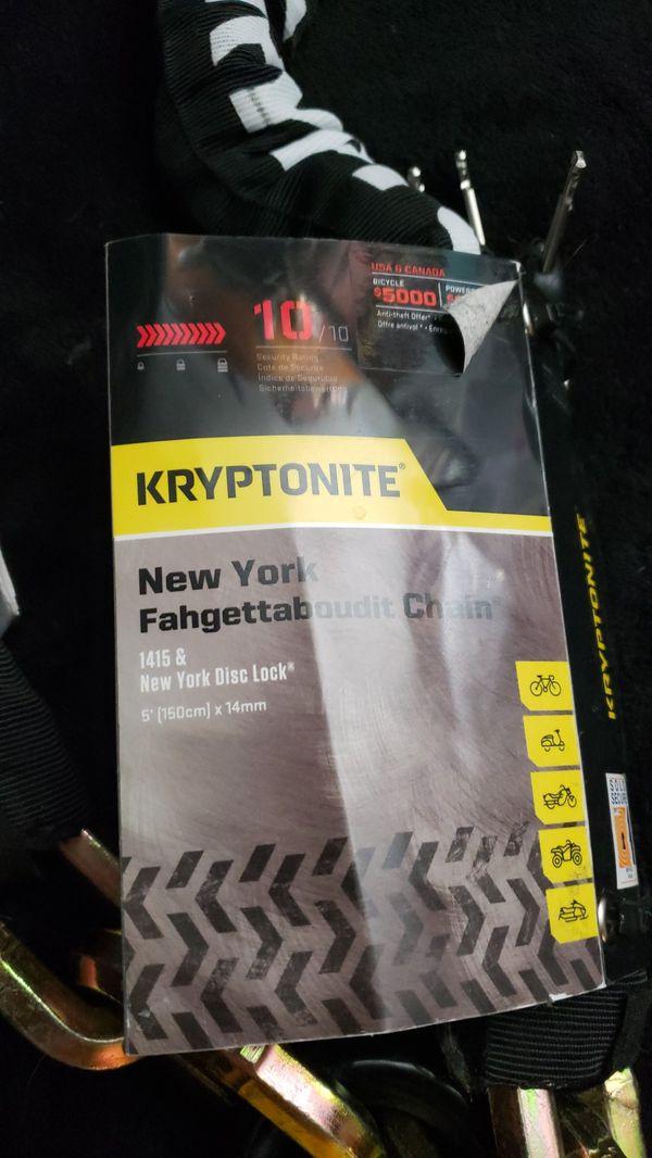 Kryptonite lock