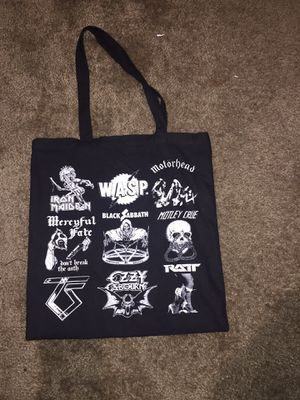 Heavy metal band bag for Sale in San Diego, CA
