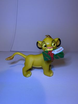 Grolier Simba Ornament The Lion King President's Edition for Sale in Indian Lake Estates, FL