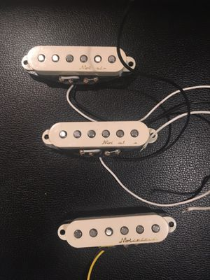 Fender vintage noiseless pickups for Sale in Palos Heights, IL