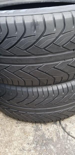 285 45 22 two tires for Sale in UPR MARLBORO, MD