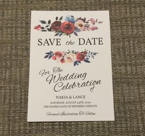 Wedding save the dates handmade for Sale in Houston, TX