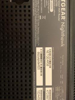 Netgear Nighthawk R6700 for Sale in Sacramento,  CA