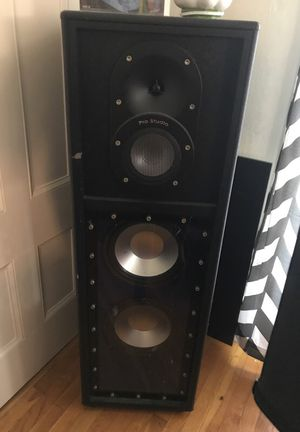 Pro Studio Speakers w/ Sony Control Center for Sale in Stoughton, MA
