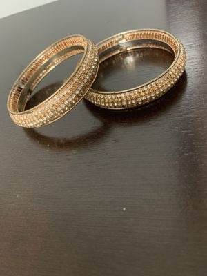 Indian Bangles Rose gold fashion Jewelry for Sale in Silver Spring, MD