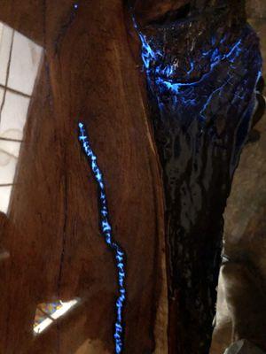Mesquite slab glow in the dark resin. for Sale in Abilene, TX