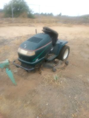 Ride Along Lawn Mower ~ $150 Firm - for parts for Sale in Riverside, CA
