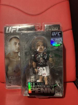 UFC BJ Penn Signed Action Figure Limited Edition 1243 of 3000 for Sale in Hacienda Heights, CA