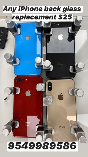 iPhone back glass replacement x s max 8 plus x 8 for Sale in Medley, FL