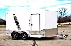 💲 1️⃣0️⃣0️⃣0️⃣ firm price!! e🇳c🇱o🇸e🇩 🇨a🇷g🇴 🇹r🇦i🇱er hitch type bumper pull for Sale in Newark, NJ
