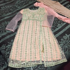 """Pakistani Indian Shalwar Kameez Dress Outfit fancy eid party wedding dress bust size 40""""length 40.5"""" frauk for Sale in Silver Spring, MD"""