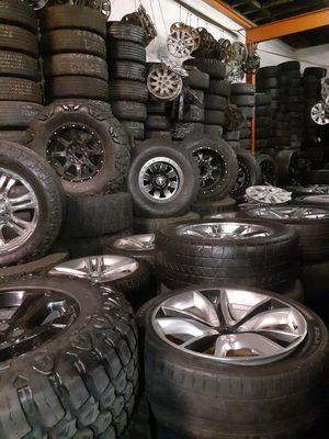 Offroad wheels, Tacoma rims, tundra rims, Silverado rims, sierra rims, f150 rims, dodge ram rims, jeep rims for Sale in Paramount, CA