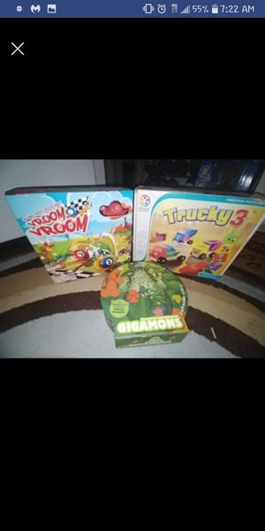 3 kids games for Sale in Taunton, MA