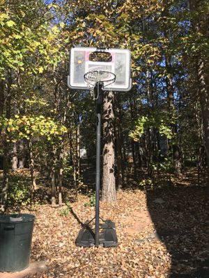 Basketball hoop- needs a back board and net. Pick up only. for Sale in S CHESTERFLD, VA
