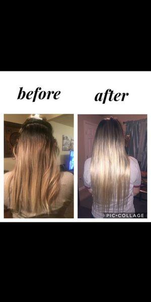 Extensiones de cabello 100% pelo natural especial del mes for Sale in Mesquite, TX