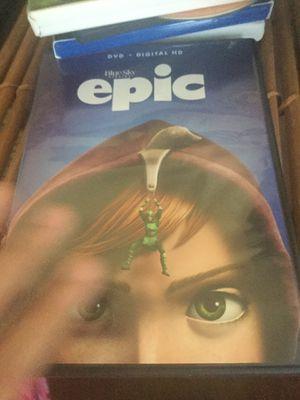 Movies: epic, shark tale, spy kids, shriek for Sale in Norfolk, VA