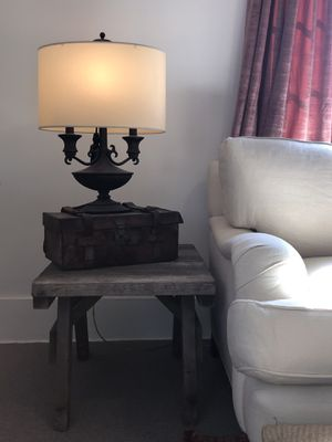 Antique Lamp & Pirates Chest for Sale in Los Angeles, CA