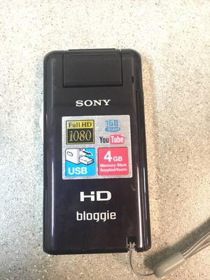 Sony bloggie hd camera for Sale in Tampa, FL