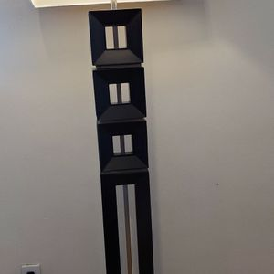 Beautiful Standing Lamp Has Mirrors On The Sides And High Quality And Heavy U Will Really Want It for Sale in San Bernardino, CA