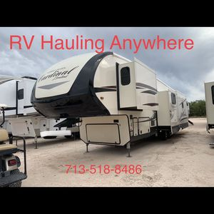 Fifth Wheel And Travel Trailer Hauling for Sale in Katy, TX