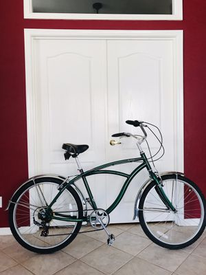 "Men's 26"" Beach Cruiser Bike 7speeds (awesome bike) for Sale in Glendale, AZ"