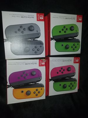 Nintendo Switch Joy Con Sets Brand New Factory Sealed Authentic Original for Sale in South Gate, CA