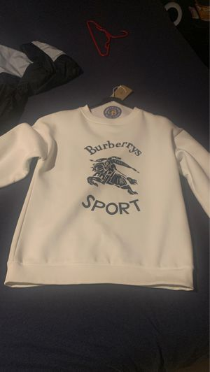 Burberry Sport White Crewneck XS fits to size Never Worn for Sale in Southlake, TX