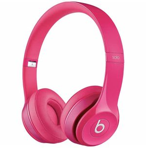 Pink Dr Dre Beats Solo 2 wired for Sale in Fort Lauderdale, FL