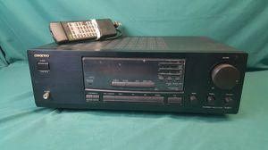 Onkyo TX-8211 2 Channel FM Stereo AM Receiver bundle w/ Remote Control for Sale in Conshohocken, PA