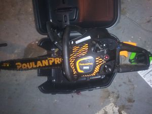 Poulanpro chainsaw for Sale in Bartow, FL