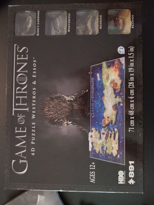 Game of Thrones 4D Puzzle for Sale in Sugar Land, TX