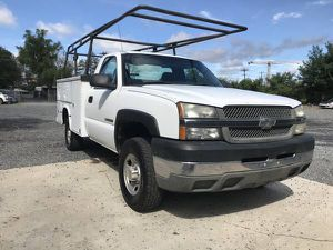 2004 CHEVY SILVERADO 3500HD UTILITY BED SERVICE WORK TRUCK 106K MILES for Sale in NO POTOMAC, MD