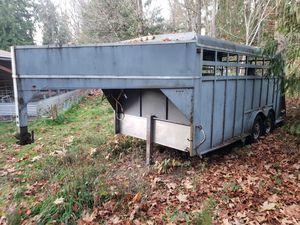 Livestock trailer for Sale in Eatonville, WA