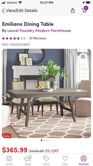 Emiliano Dining Table for Sale in Corona, CA