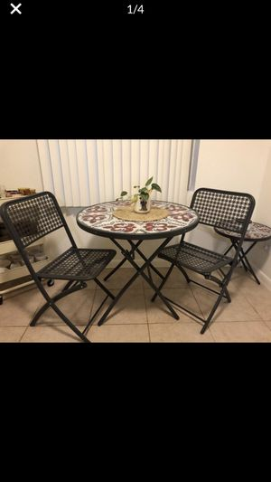 4 Piece Set of Tables and Chairs for Sale in Phoenix, AZ