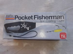 Propel Pocket Fisherman spin casting outfit Box new perfect first time Fisher or backpacking $10 or best offer for Sale in Wildomar, CA