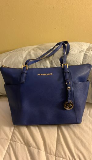 Michael Kors royal blue tote for Sale in Seattle, WA