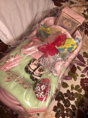 Baby shower basket gift for Sale in Duncanville, TX
