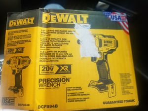 20-Volt MAX XR Lithium-Ion Brushless Cordless 1/2 in. Impact Wrench with Detent Pin Anvil (Tool Only) for Sale in Salt Lake City, UT
