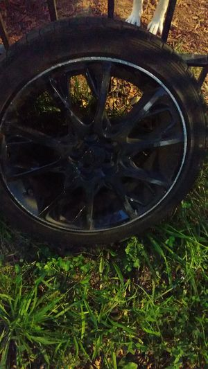"Black 17"" Toyota rims X4 for Sale in Washington, DC"