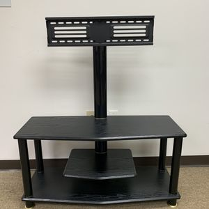 Swivel TV Stand With Media Entertainment Console For 32-65 Inch, Black. for Sale in Duluth, GA
