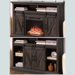 """New!! TV Stand, Entertainment Center, Furniture,Fireplace,TV Console,Media Console,TV Stand For TVs Up to 55"""" for Sale in Phoenix, AZ"""