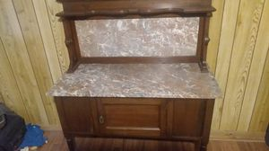 Antique marble wash table for Sale in Fort Worth, TX