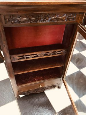 Antique 1800's English Handcrafted Wall Hanging Cabinet. for Sale in Tampa, FL