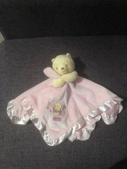 Disney Baby- Winnie the Pooh Rattle Blanket for Sale in Autaugaville,  AL