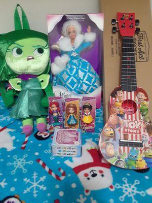 girls bundle lot brand new toys gifts holiday christmas disney for Sale in Spokane, WA