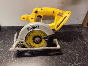 Dewalt 18v XRP circular saw for Sale in Mount Crawford, VA