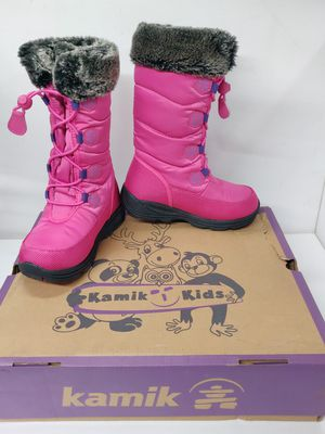 Kamik Girls waterproof rain / snow boots (size 11 little kids) for Sale in Monterey Park, CA